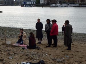 divination on the beach